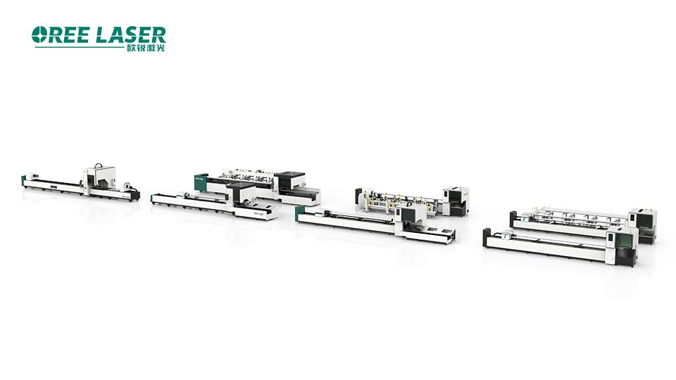 欧锐激光管材激光切割机