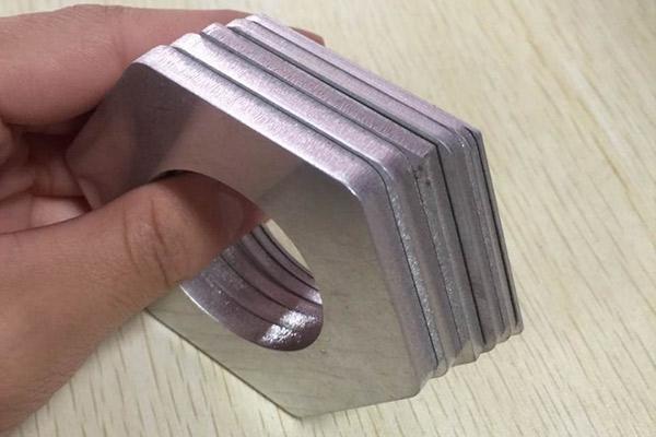 铝切割样品图