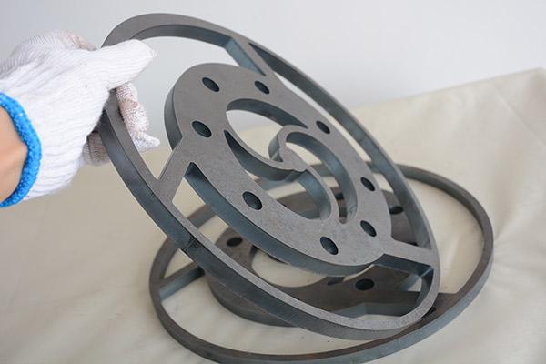 碳钢切割样品图