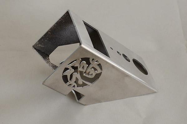 不锈钢样品切割图