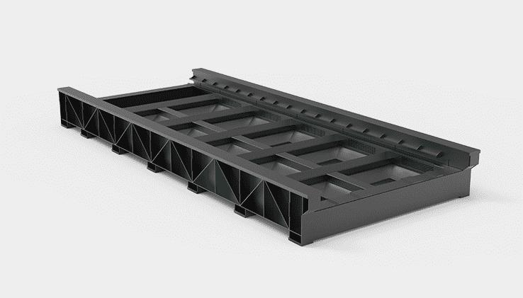 大幅面板焊床身