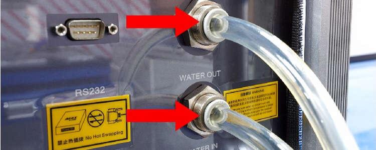 水冷机排水,水冷机排水正确方式,如何排空水冷机