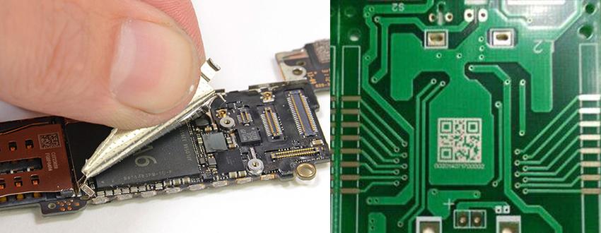 激光打标机在手机上的应用