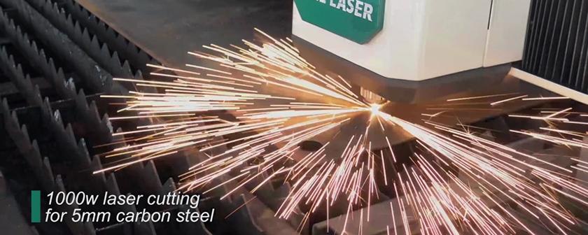 1000w金属光纤激光切割机